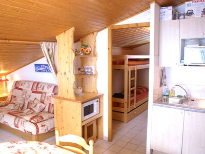 Photo for NICE ONE BEDROOM FLAT AT THE FOOT OF SLOPES