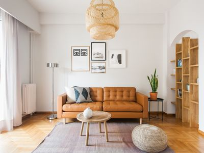 Photo for Stylish 2BD Apartment in the Heart of Athens