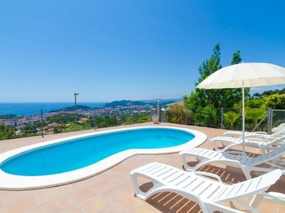 Photo for 2 bedroom Villa, sleeps 8 with Pool, FREE WiFi and Walk to Beach & Shops