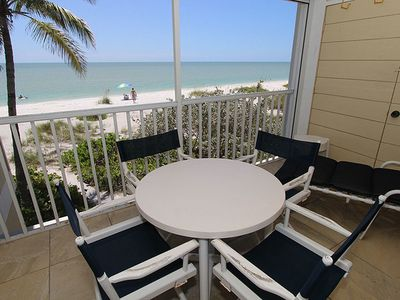 Photo for Two Bedroom, Two Bathroom Sanibel Condo Located in Private Complex on the Beach - Villa Sanibel 1G