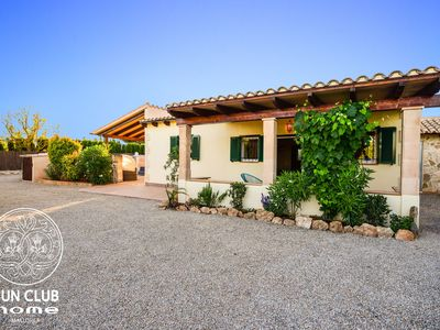 Photo for Luxury Finca SUN CLUB home - Mallorca, glass pool, BBQ, relax oasis, free WIFI