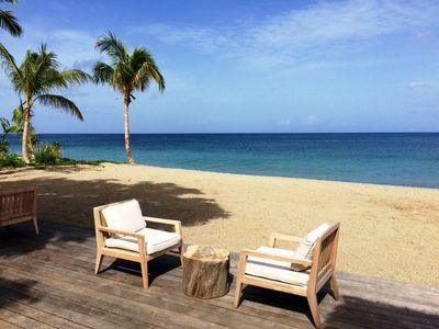 Photo for Paradise Beach Nevis - Luxury 4 Bed Ocean View villa with Private Pool