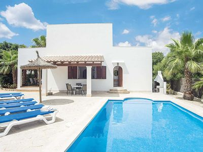 Photo for 3 bedroom Villa, sleeps 6 in Cala Egos with Pool, Air Con and WiFi