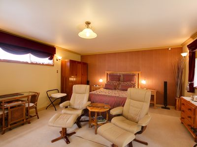 """Photo for The """"Cottage"""" is a luxuriously fitted out studio room"""