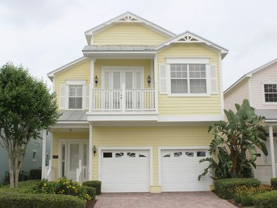 Photo for 5/5, Private Screened Pool, 6mi to Disney, Quiet, FREE Waterpark Access