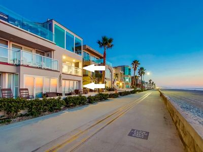 Photo for 2 Floors of Ocean Front ★ 2 Exclusive Patio's ★ A/C