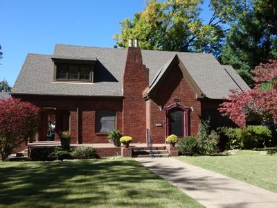 Photo for Historic Charm In The Heart Of Tulsa's Midtown! Truly A Historical Showcase.
