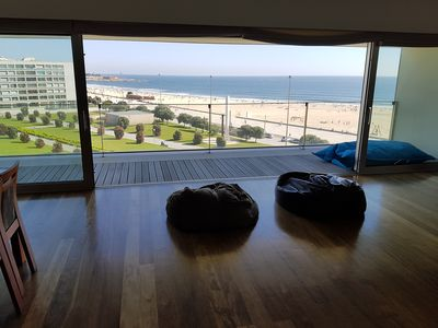 Photo for Beachfront Family Apartment  - Four Bedroom Apartment, Sleeps 7