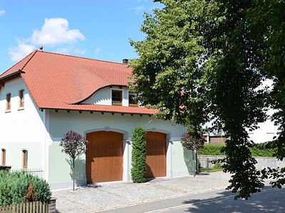 Photo for Modern apartment in Bavaria with floor heating and garden, located directly at the Jakobsweg.