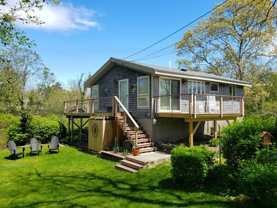 Photo for Newly Renovated 3BD--A/C, Marsh Views, Deck & Outdoor Shower