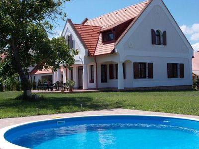 Photo for Holiday house Nagyvázsony for 1 - 17 persons with 5 bedrooms - Holiday home