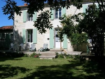 Photo for Witihin the marais poitevin, house with character is an enjoyable place to stay