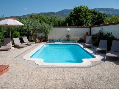Photo for SPECIAL OFFER  16 sept to Oct 27 £550. p w 3 BED VILLA WITH HEATED POOL