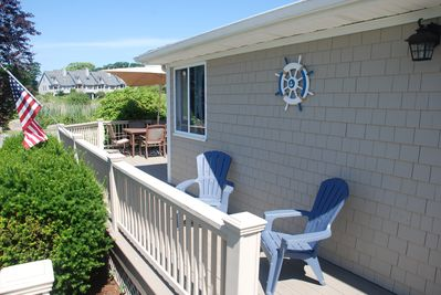 Huge deck for all your outdoor entertaining.