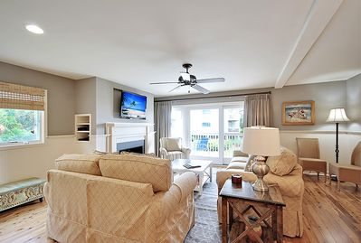 Beautifully updated living room