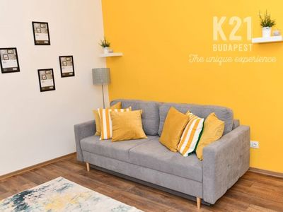 Photo for K21 Budapest 4 BR apartment up to a ruin bar accommodating 16 people