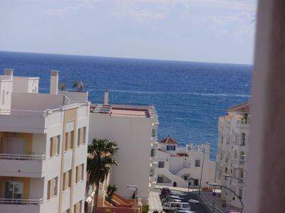 Photo for New apartment Playa Playazo Nerja, decorated in an attractive modern style.
