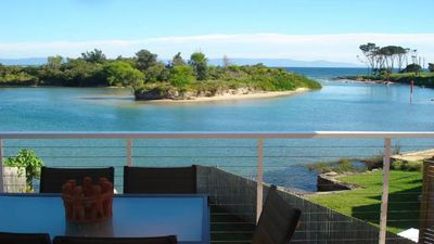 Photo for Shore Thing Absolute Waterfront - Currarong. Luxury, family friendly beach house