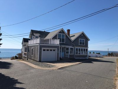 Photo for Oceanfront * Steps to Beach *  Family-friendly * desirable Falmouth Heights