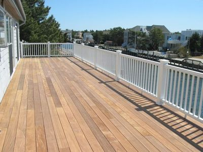 Second Floor Rear Deck