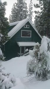 Photo for Cozy Cabin in Cold Springs, near Pinecrest Lake and Dodge Ridge Ski Resort