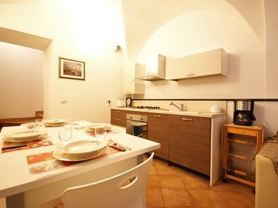 Photo for Comfortable apartment in characteristic Ligurian village