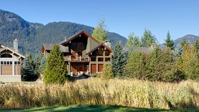 Photo for Big Sky Chalet  4 Bedroom + Den Nicklaus North Golf Course Home with Hot Tub