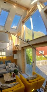 Photo for LOFOTEN FJORD LODGE close to Unstad Beach