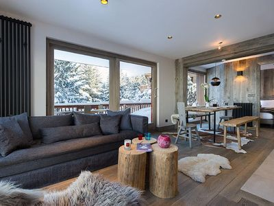 Photo for Fully renovated apartment in an individual chalet