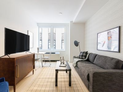 Photo for Sonder | Stock Exchange | Bright 1BR + Laundry