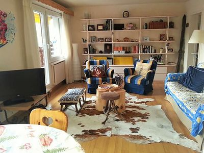 Photo for 2BR Apartment Vacation Rental in Lens, Valais