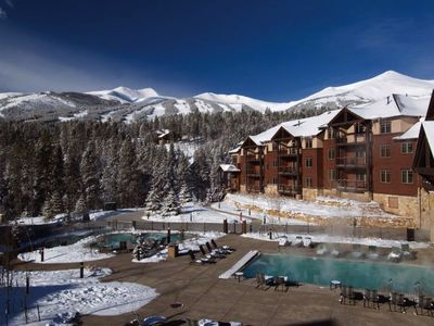 Photo for Grand Timber Lodge-ski in ski out 2 bedroom master suite with lock out