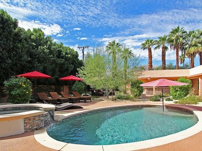 Photo for Palm Desert playground - Pool, Spa, Fire Pit, Putting Green and more!