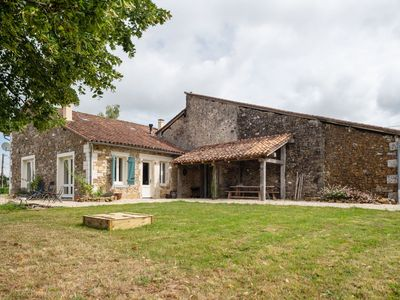 Photo for Charming holiday home in Rouzède with a swimming pool starting in October 2020