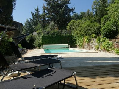 Photo for House of character in the heart of Hautes Corbières / heated pool