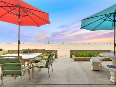 Photo for Large Oceanfront Condo with Giant Patio on the Sand!