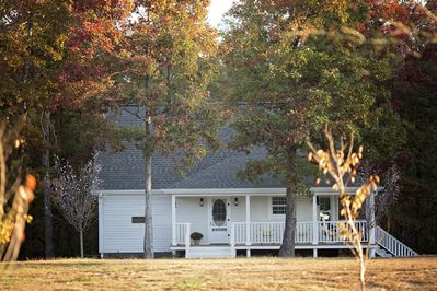 The Quarter House Cottage rental in fall
