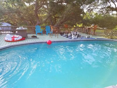Photo for Enjoy Lake LBJ at Charming Home on Canal