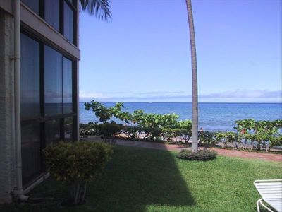 Photo for Corner Ground Unit ***Oceanfront*** 2bd/2bt - #1 Location