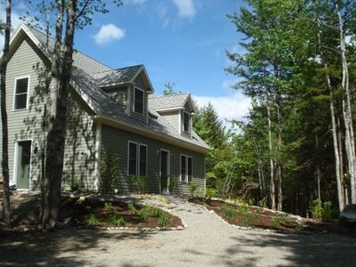 Photo for Comfortable Cottage Overlooking Blueberry Field on Mt Desert Island