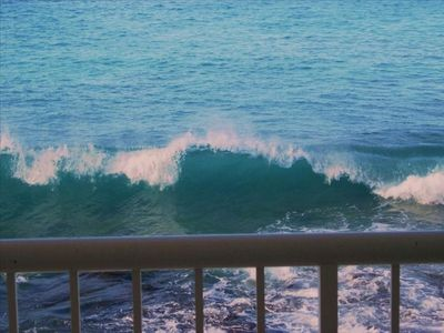 VIEW OF THE OCEAN FROM YOUR LANAI