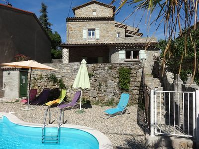 Lovely IDEAL 3 Gites For The DREAM Of Your Holidays In Ardeche, With Heated Pool    Gite Le LAVOIR