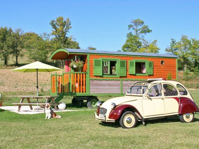 Photo for TRAILER OF ROQUECOR - GRAND PRE GITES! - WITH POOL - SOUTH WEST QUERCY