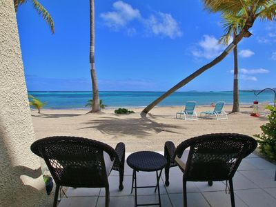 Photo for Beachfront, remodeled 1BR/1BA condo with pool access