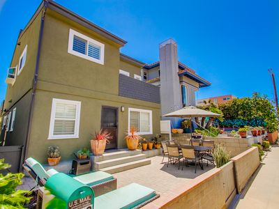 Photo for #725 - Newly remodeled family retreat w/ spacious patio, steps to beach