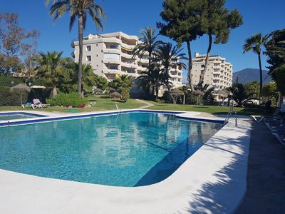 Photo for Lovely sunny apartment in Atalaya Golf, Estapona East - 5 mins to amenities