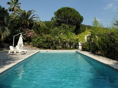 Photo for 4BR House Vacation Rental in Auribeau-Sur-Siagne, Provence-Alpes-Côte-D'Azur