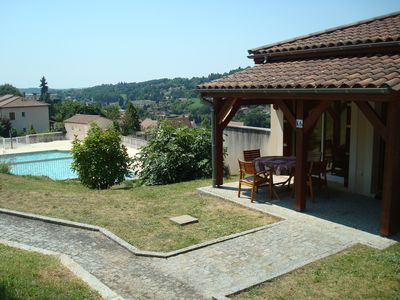 Photo for Rent 2 rooms with pool Sarlat la Caneda