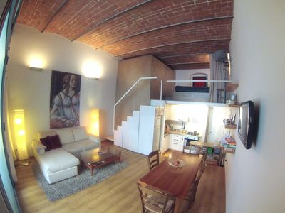 Photo for Cool Metropolitan Lifestyle Loft with Wi-Fi, AC and 2 Bikes