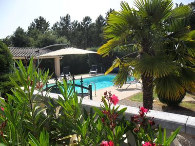 Photo for Beautiful villa with private pool on the French Riviera